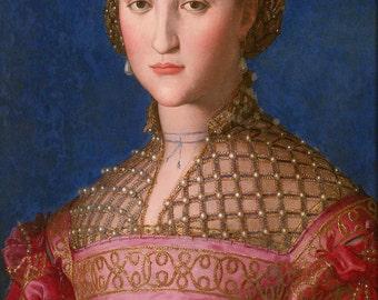 Bronzino: Eleonora of Toledo. Fine Art Print/Poster. (001980)