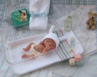 Ooak Realistic Newborn Full Sculpt Baby Boy or Girl* You Choose