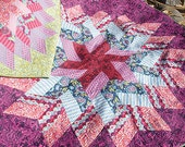 Sewing Pattern - Jaybird Quilts / Glimmer Quilt Pattern / Physical Pattern