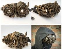 Steampunk gogless / Techno phantom mascarade mask