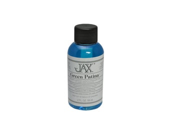 JAX Green for Copper/Brass - Jewelry Patina Antique Finish 2oz - 45-90001