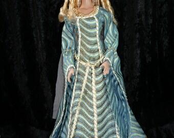 outfit doll Tonner Tyler daphné  dress Medievale ooak