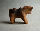 """Ceramic figure """"Red Horse"""""""