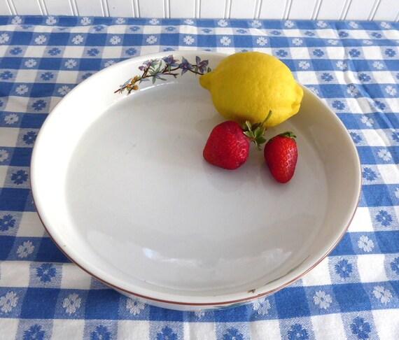 Bakeware Woodhill Quiche Dish Pie Plate Torte Botanical Herbs
