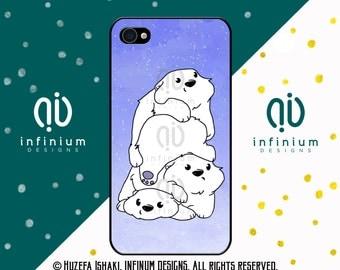 Cute Kawii Bear iPhone Case, iPhone 6S Case, iPhone SE Case, iPod Touch 6 Case, iPhone 6 Plus Case, iPhone 6, iPhone 5S & iPhone 5C Case