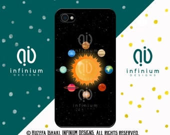 Planets, Solar System, iPhone 6S Case, iPhone SE Case, iPod Touch 6 Case, iPhone 6 Plus Case, iPhone 6, iPhone 5S & iPhone 5C Case