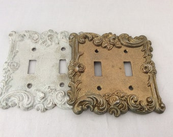 double light switch plates