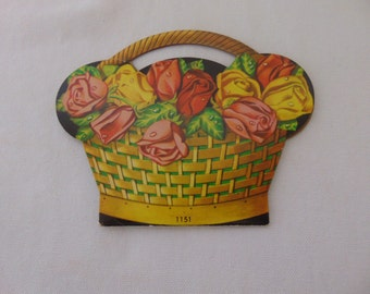 flower basket needle booklet