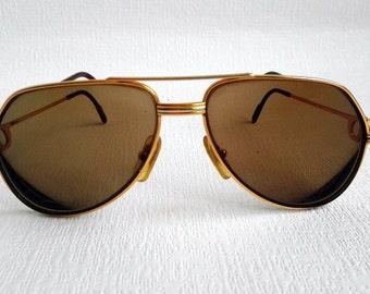 Cartier Vendome Aviator Frame, Made in France, Original Frame, Prescription Sunglasses, Vintage 1980