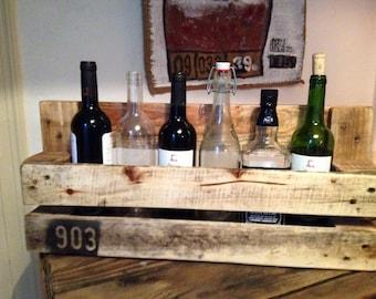 Range bottle vintage palette