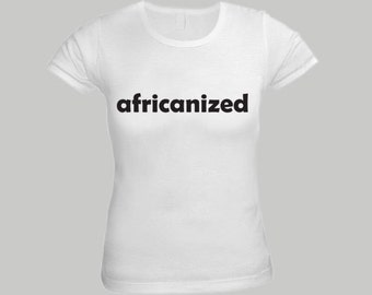 Africanized White Shirt for Women