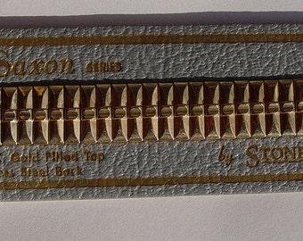 NOS-1950s-Vintage-Stonewall-Saxon-Series-1-20-10kt-G-F-Watch-Band