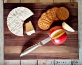 Walnut Bread Board, Chees...