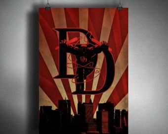 Daredevil Art Deco Style Art