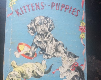 Stories of Kittens and Puppies 1945