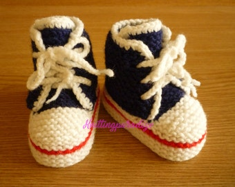 knit baby boots, baby boots, sport baby boots, warm baby boots, crochet boots