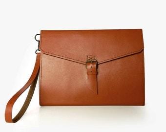 Men's Leather Tablet Case, iPad suited (2,3,4 series), iPad sleeve, iPad case, unisex