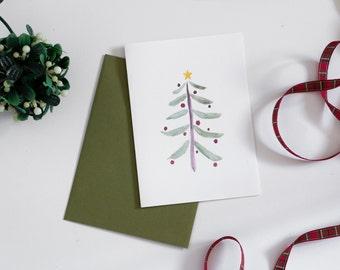 Holiday Greeting Card - Christmas Tree Card