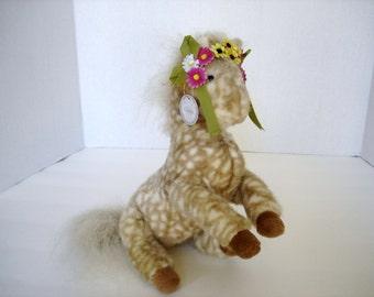 Oatsie the Appaloosa  Pony Muffy VanderBear's Flower Festival Friend Plush Toy Horse