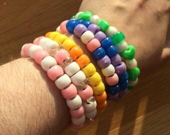 Multi-Color Wordless Bracelets