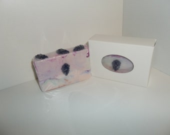Black Raspberry & Vanilla Soap Bar