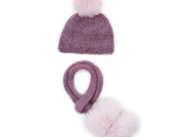 Chloe Hat And Scarf Set