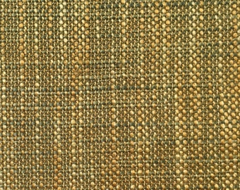 Yellow - Green - Woven - Upholstery Fabric by the Yard