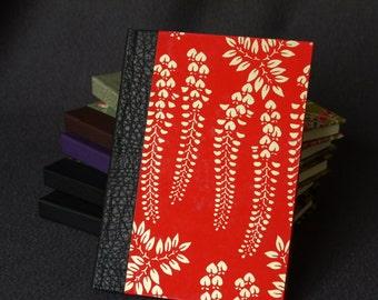 Book back leather (format A6) fujikin