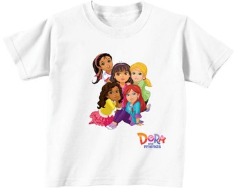 Dora and friends Custom T-shirt