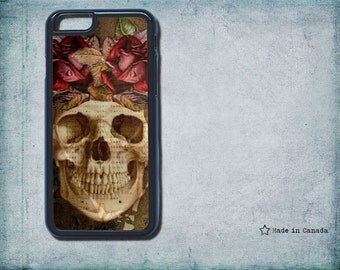 Day of the Dead, Sugar Skull,  iPhone 6 case, iPhone 6plus, monogram iPhone 6/6p/4/4s/5/5s/5c - whimsical illustration- samsung s5- iPhone