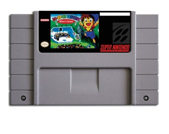 Do-Re-Mi: Milon's Doki-Doki Adventure for SNES! - Super Nintend Retro Collectible - Super Famicom - Great Gamer gift!