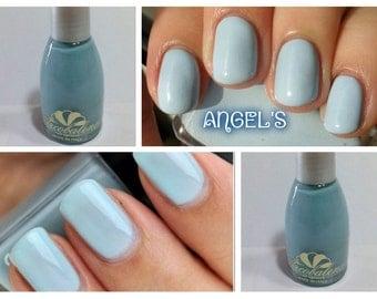 nail polish, long-lasting color PASTEL BLUE