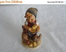 DISCOUNTED 1948 FEEDING TIME Vintage Hummel Figurine 199/1 - Tmk1/Full Bee/Pristine Vintage Condition/Collectible Hummel Figurine