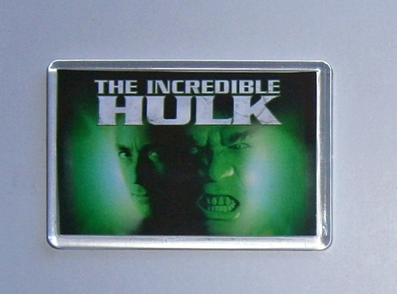 Classic TV fridge magnets New - Six Million Dollar Man The A-Team Buck Rogers The Incredible Hulk Battlestar Galactica