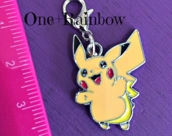 Pikachu!!!! Adorable Pokemon Zipper Pull ~ Pikachu Character Purse Jewelry, backpack accessory, charm/pendant