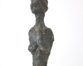 Sculpture, plastic, torso, study, 35cm