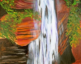 Winter's  Falls in Oz....Browns, Blues, Greens, Purples, Reds , Yellows and White  SHIPS FREE in USA