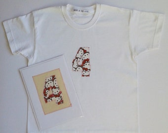 4th Birthday T-Shirt and Card