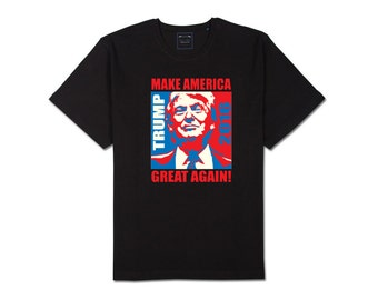 Adult Men Women Make America Great Again Donald Trump 2016 Graphic Tee T Shirt