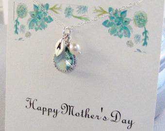 Happy Mother's Day,Succulent,Succulent Necklace,Mom,Mom Necklace,Green Necklace,Green Necklace,Mint Necklace Necklace,Mint Necklace