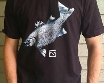 Gyotaku T-Shirt--Beautiful, Unique, Comfortable!
