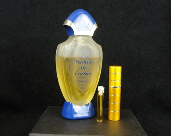 Vintage, Niche, Old Perfume, Panthere De Cartier Eau De Toilette Sample Vial/Spray, Rare, old formula, discontinued, hard to find