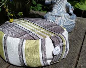 Meditation Cushion-Classic Tartan with a modern twist-Zafu