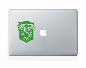 Harry Potter Laptop Decal - Slytherin