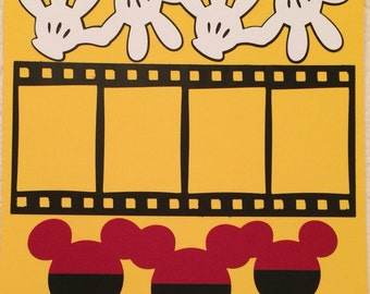 Mickey Filmstrip Layout