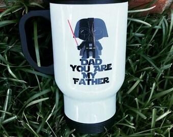 Darth Vader Dad You are My Father Travel Mug