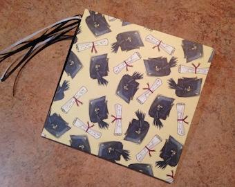 Graduation 7x7 Scrapbook, Handmade Album