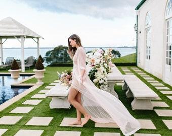 Bride Lace Robe