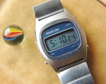 Vintage Phasar LCD Quartz Watch