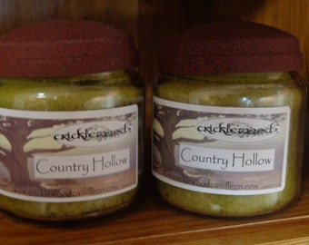 Country Hollow fragrance Cricklewood & Co. original jar candles